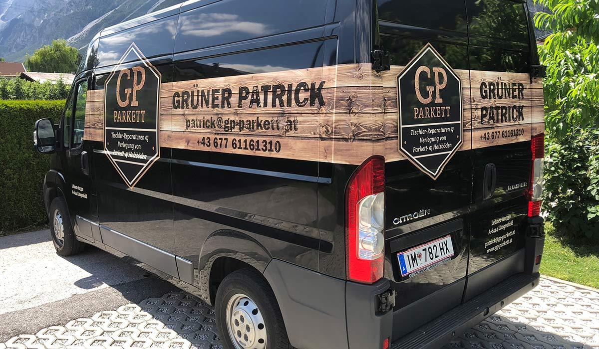 GP Parkett | Grüner Patrick Längenfeld