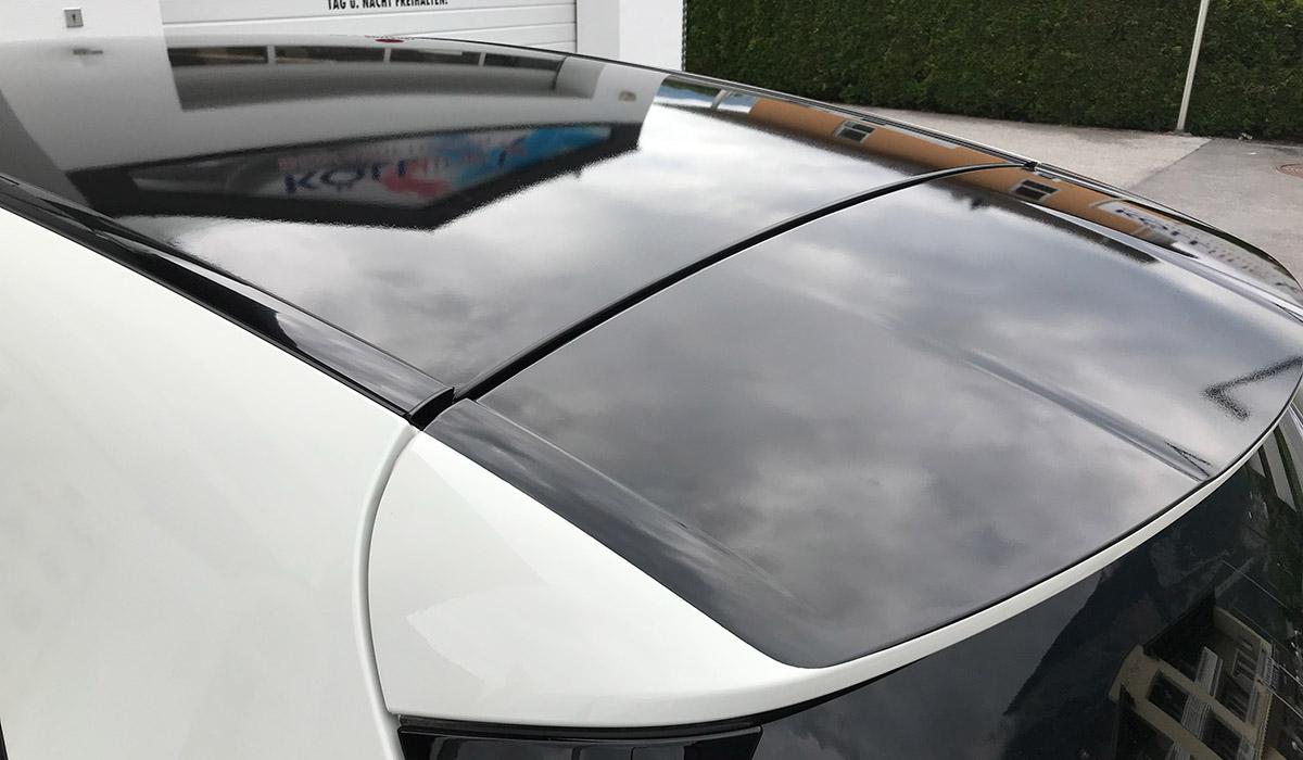 Mercedes A-Klasse Dachfolierung