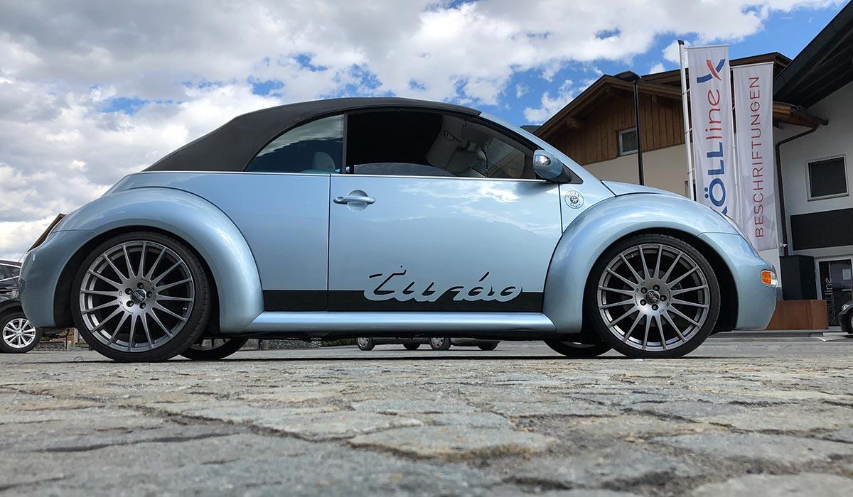 VW Beetle Designbeklebung