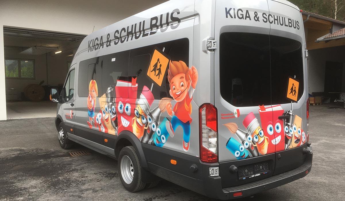 Kindergarten & Schulbus Nassereith