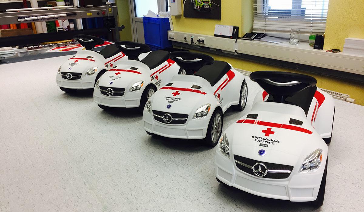 Bobbycar Österreichisches Rotes Kreuz