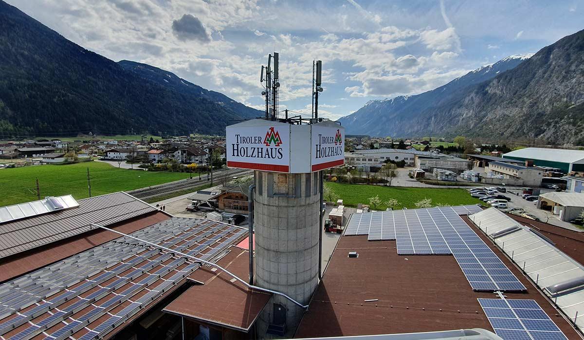 Tiroler Holzhaus Silz