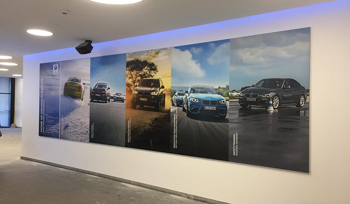 Werbefläche BMW Gletscher Sölden
