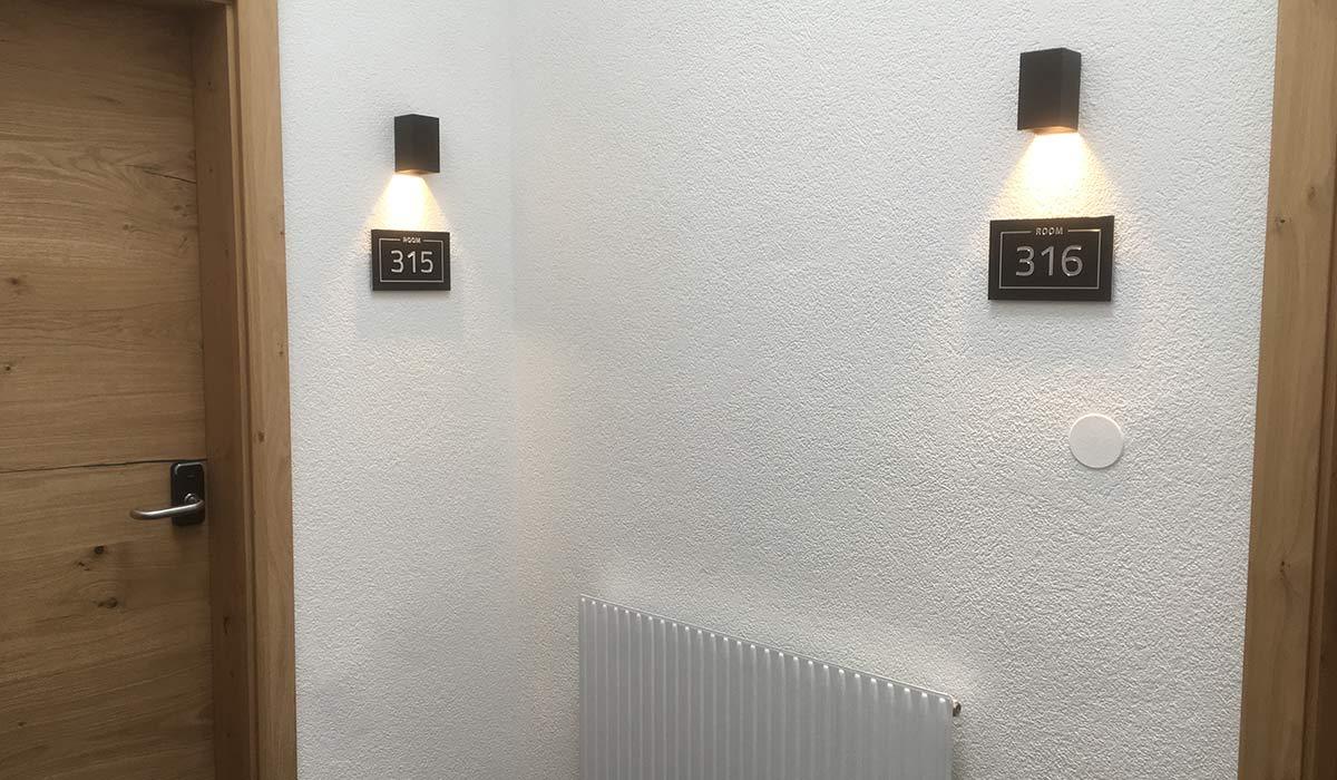 Zimmernummer Schilder