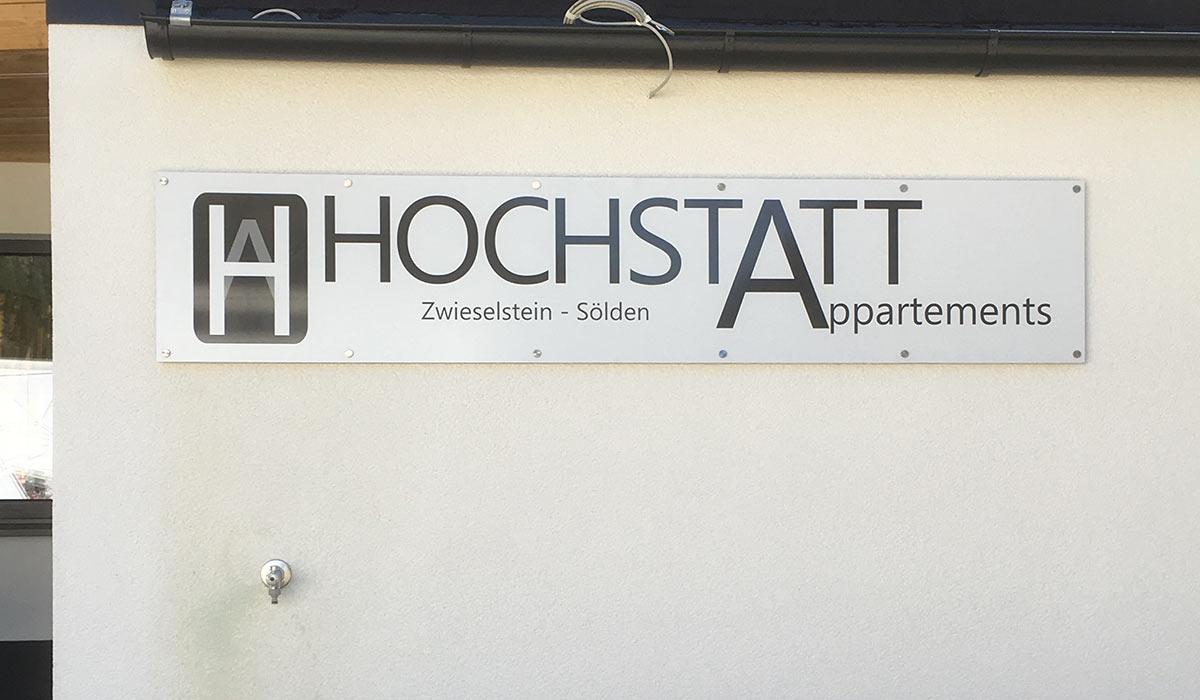 Hochstatt Appartements Zwieselstein