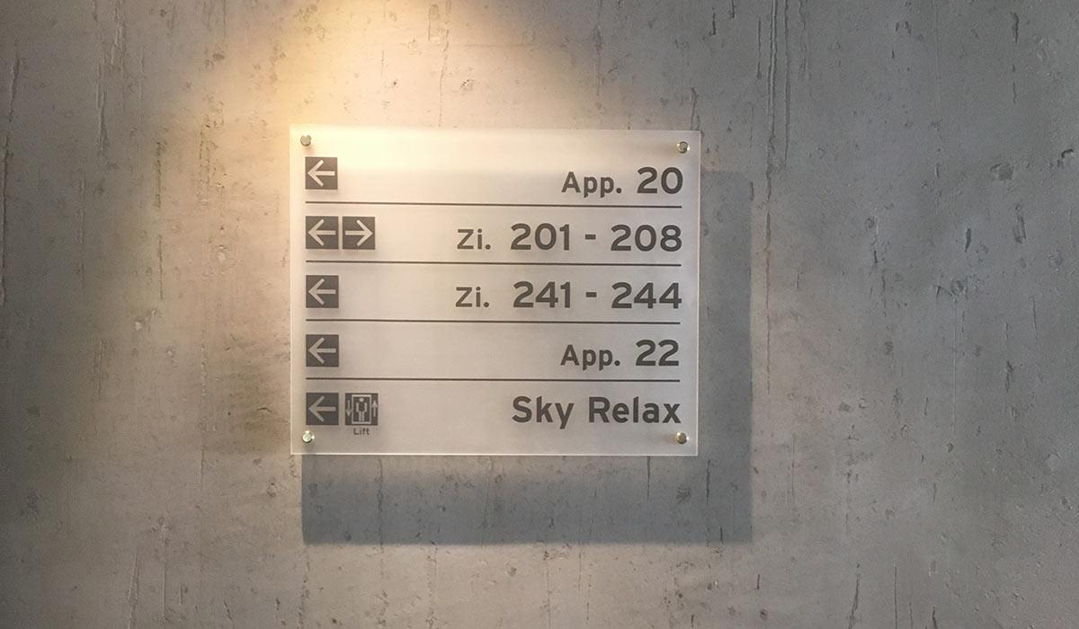 Hotel Riml Hochgurgl Infoschild