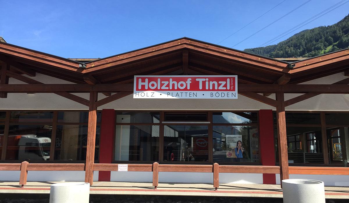 Holzhof Tinzl Ötztal Bahnhof