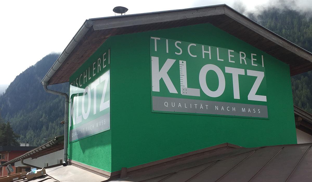 Tischlerei Klotz Umhausen