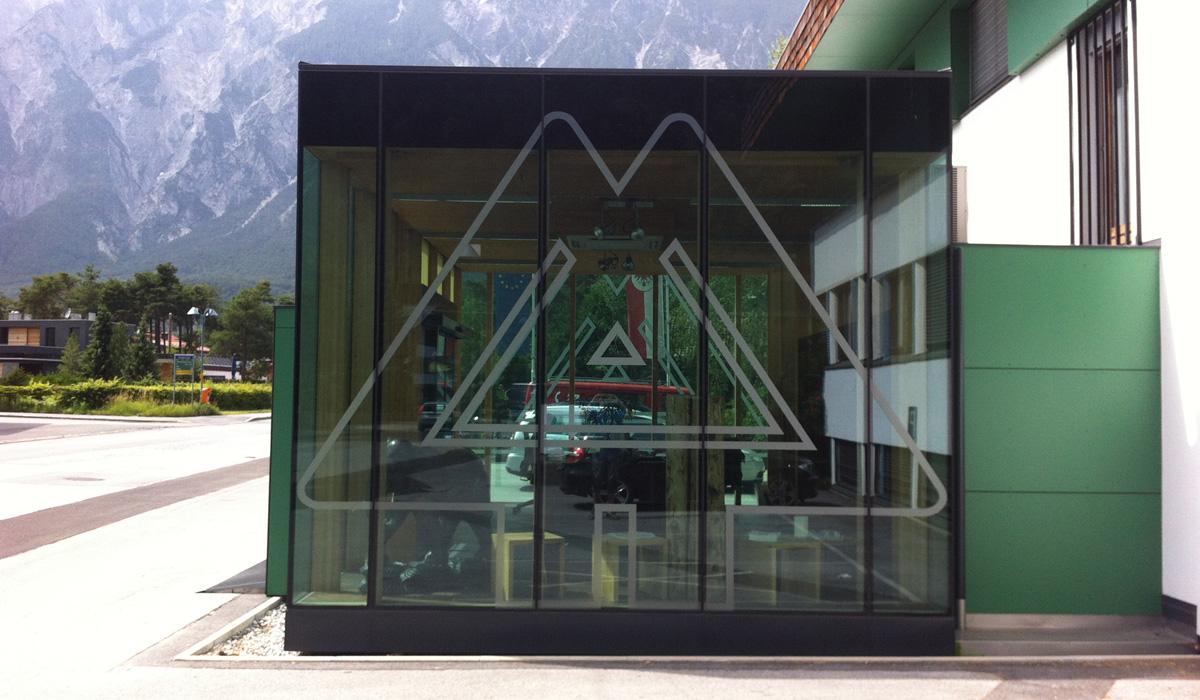 Holz Marberger Ötztal Bahnhof